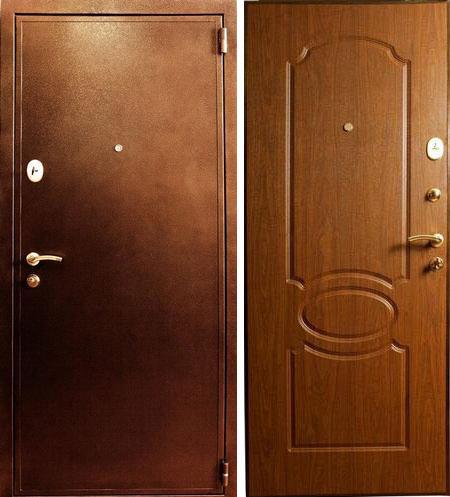 Металлическая стальная входная дверь Лекс 2 береза