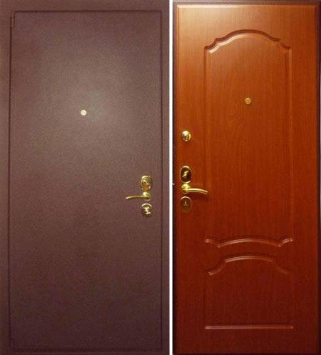 дверь металлическая входная цвета