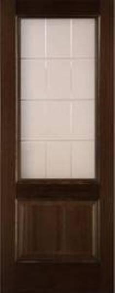 Венге(стекло белое матовое с алмазной гравировкой)