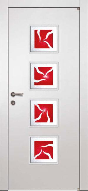 ALFA Vista стекло RED Murano