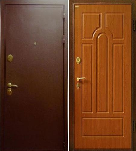 металлические двери а