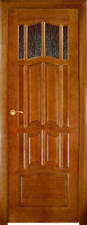 Межкомнатная дверь Ампир - верхнее остекление